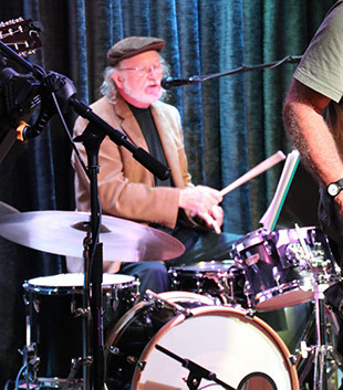 Image of Don Kellogg on drums with The Fat Fridays